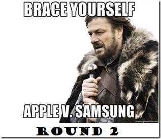 Apple vs samsung round 2
