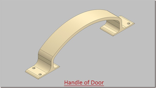 Handle of Door
