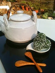 thé et truffes spiruline