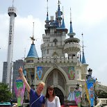 Joeun and I at Lotte World in Seoul, Seoul Special City, South Korea
