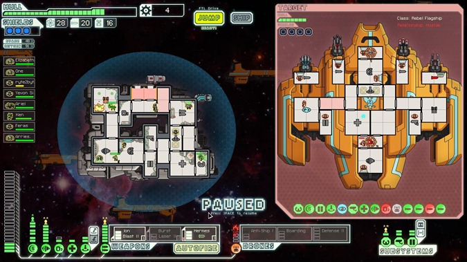 FTL Boss Flagship 1st Stage