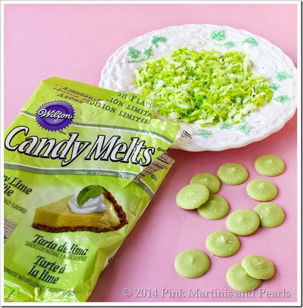 Wiltons Key Lime Candy Melts