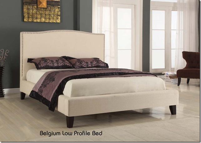 Modus Belguim low profile bed