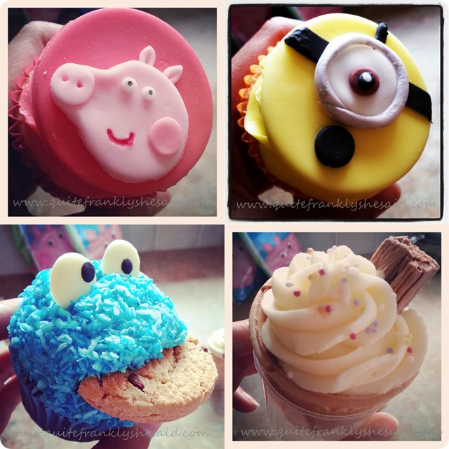 cupcakes minions minion peppa pig ice cream cookie monster