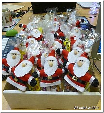Santa's Penny Bags.