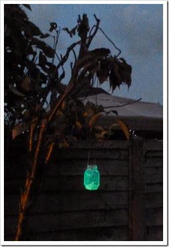 Glowstick lantern...