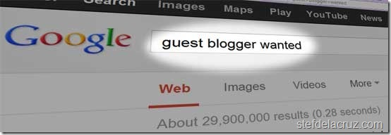 writing jobs as guest blogger