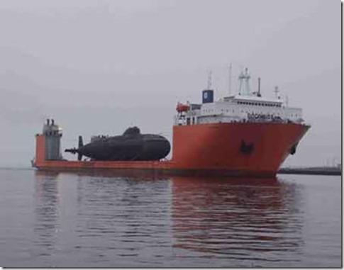 Fotografías de buques de carga pesada y su carga