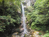 The waterfall on the slopes of Gunung Ranai (Dan Quinn, September 2013)
