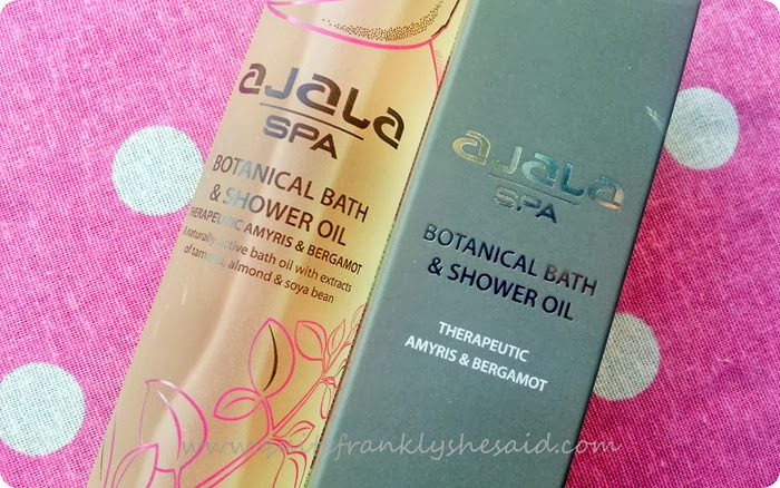 Ajala Spa Botanical Bath and Shower Oil with Energising Amyris and Bergamot 2