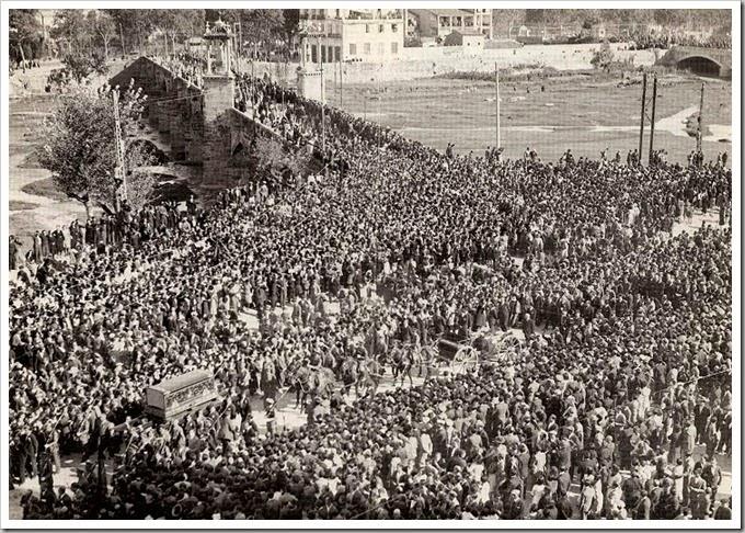 1933 llegada resto blasco ibañez