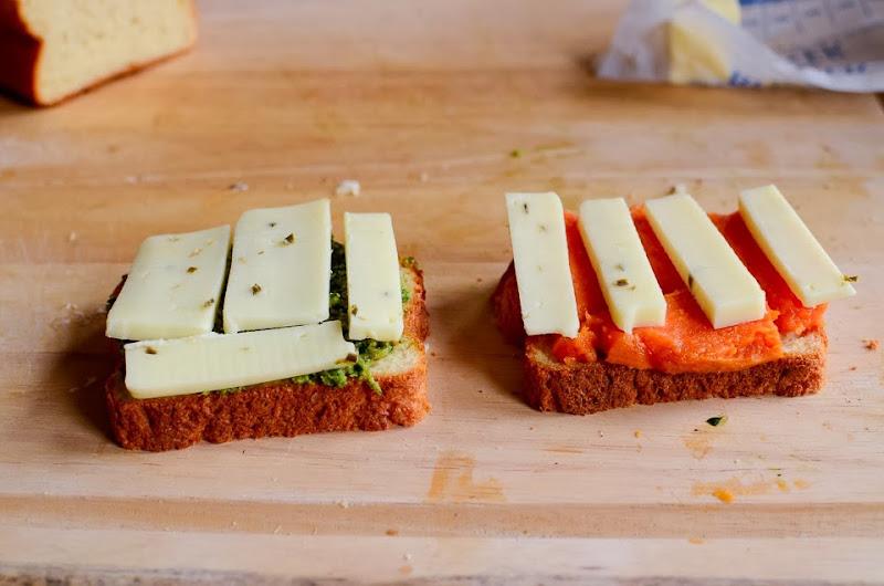 kale pesto gluten free grilled cheese-14314