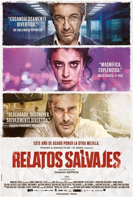 Poster Relatos salvajes