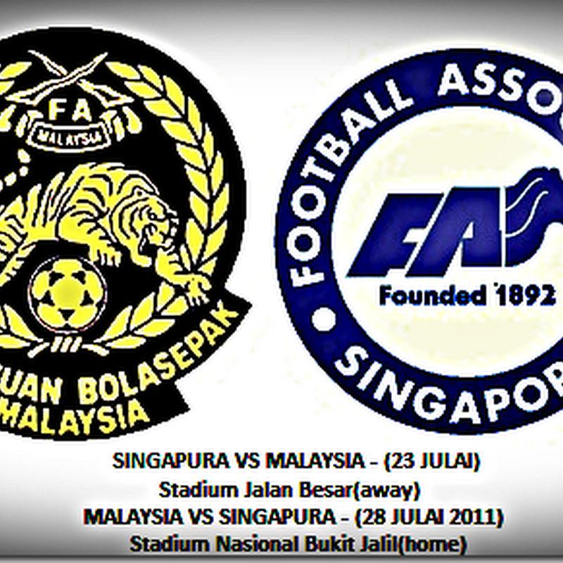 KEPUTUSAN PENUH MALAYSIA VS SINGAPURA 28/7/2011