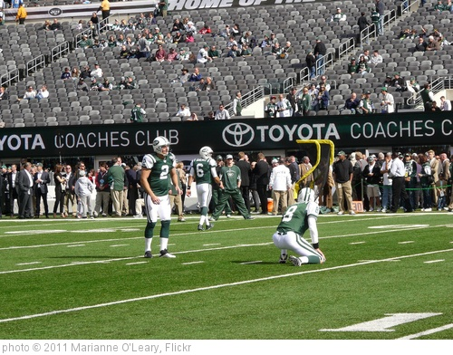 'New York Jets Kicker Nick Folk' photo (c) 2011, Marianne O'Leary - license: http://creativecommons.org/licenses/by/2.0/