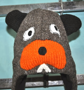 Animal Design Woolen Cap