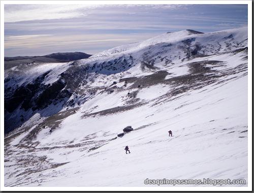 Picon de Jerez 3090m, Puntal de Juntillas y Cerro Pelao 3181m (Sierra Nevada) (Isra) 2750