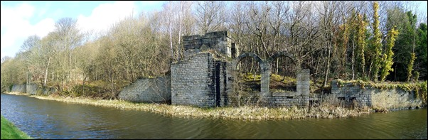 The Ruin by the Canal stitch