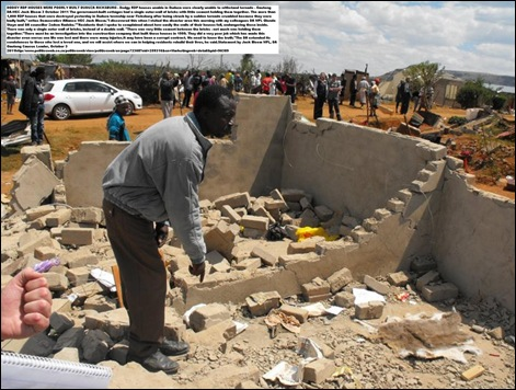 DUDUZA RDP HOUSE WHERE CHILD WAS FOUND DEAD FATHER pic FICKSBURG TIMES