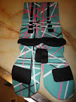 nike basketball elite lebron socks southbeach 2 03 Matching Nike Basketball Elite Socks for LeBron 9 Miami Vice