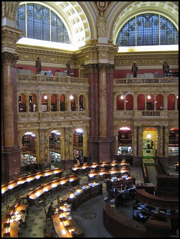 Library of Congress, Washington, DC, Etats-Unis -1