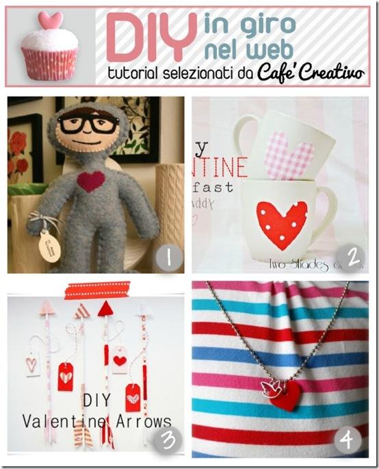 cafecreativo-tutorial Valentino cuori pupazzo tazze frecce collana