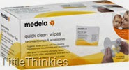 Medela Quick Clean Breastpump & Accessory Wipes (2)
