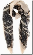 Oasis Lace Print Scarf