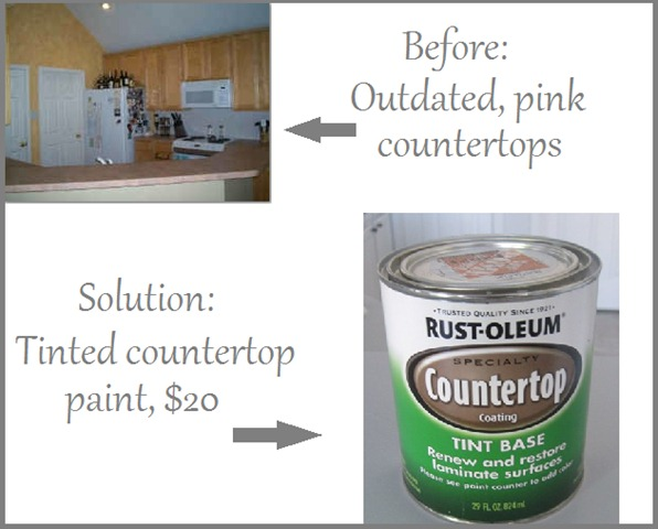 Kitchen Countertop Paint Colors : Can You Paint Countertops In The Kitchen