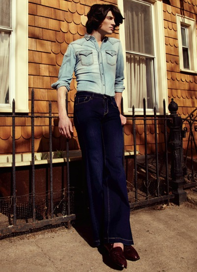 Matt Clunan by Jason Kim for OUT, May 2012.  Stylist | Grant Woolhead