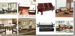 images of wooden sofa sets