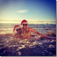 mex santa hot tub