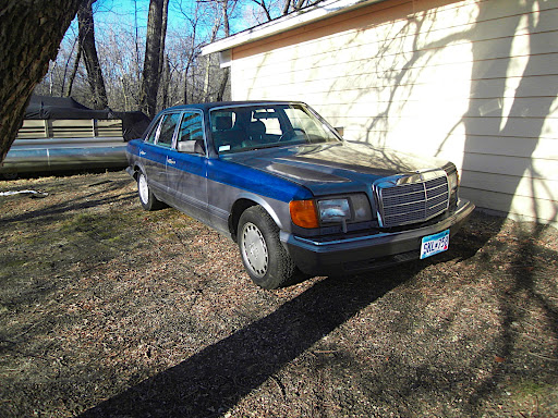 1989 W126 560SEL - /8 Donor