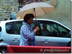 Avignon Martine Aubry Le 17 juillet 2011