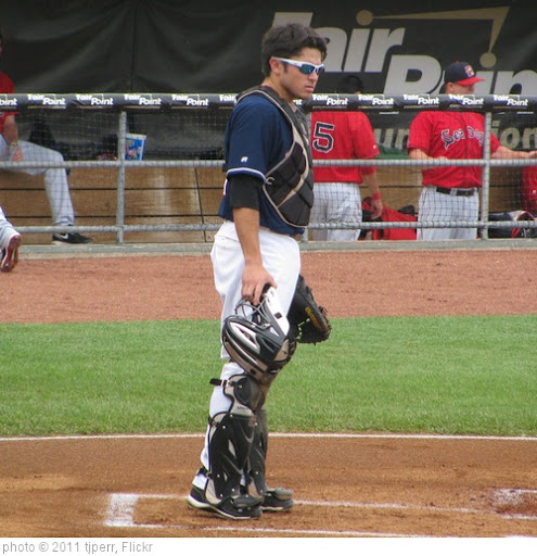 'Travis d'Arnaud Behind The Plate' photo (c) 2011, tjperr - license: http://creativecommons.org/licenses/by-sa/2.0/