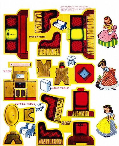 Muebles de maqueta para recortar imagui for Muebles para armar en casa