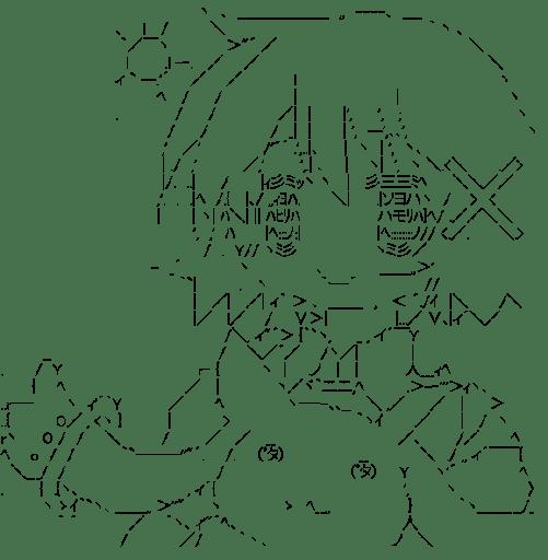 ゆの & キュゥべえ (ひだまりスケッチ)