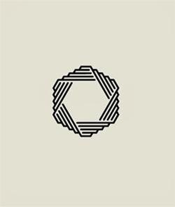 22 ejemplos de hermosos logotipos con estilo ultra minimalista