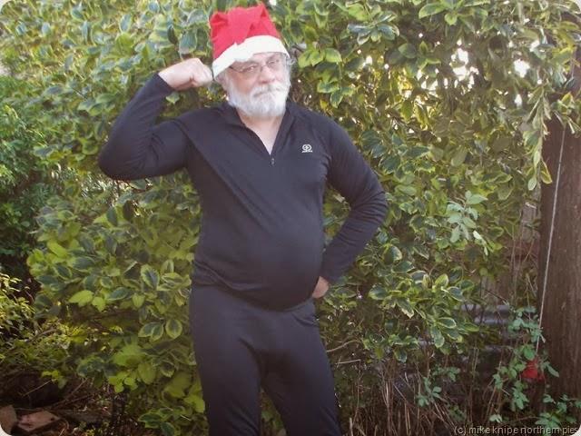 iron man does santa