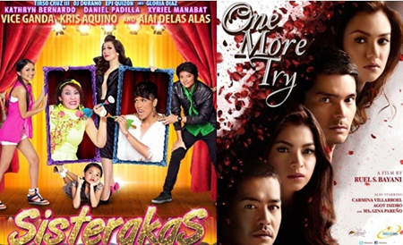Star Cinema's Sisterakas and One More Try