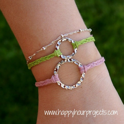 Bracelets for Camp Crafts