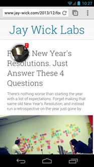 Android wishlist #3: Floating chat head for Hangouts