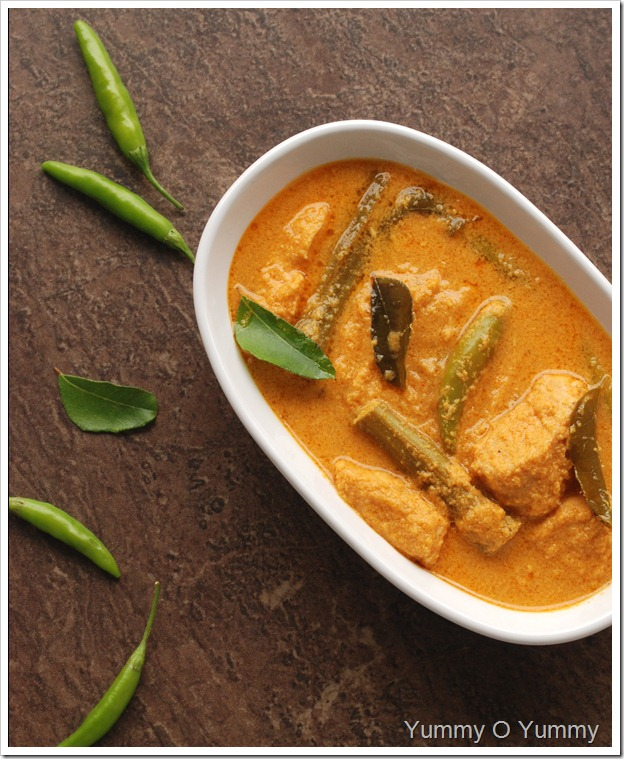 Trivandrum Style Fish Curry
