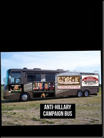 Anti-Hillary Campaign Bus