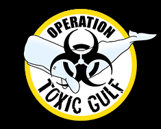 Logo for Sea Shepherd's Operation Toxic Gulf. Graphic: Sea Shepherd