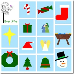 Christmas Paper Pieced Patterns