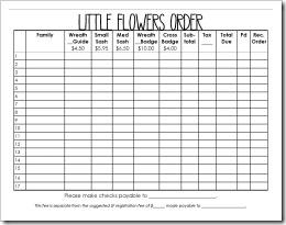 LF Order Form