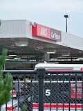 Avis is right next door to the stadium.