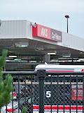 Avis is right next door to the stadium.