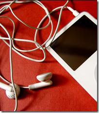Headphones with music